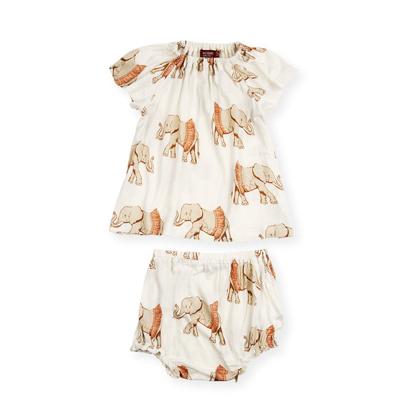 Dress & Bloomer Set - Tutu Elephant