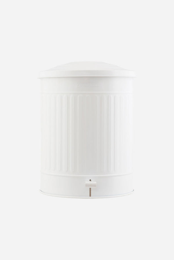 Garbage Bin - White - Large