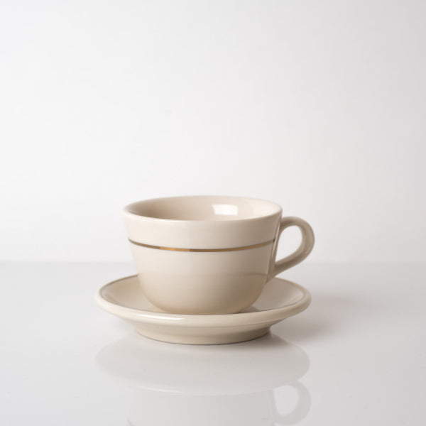 The Standard CAPPUCCINO CUP & SAUCER - CLASSIC CREAM
