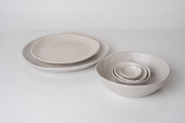 Earth Dinner Plate - Natural