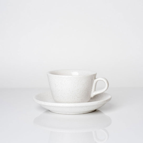 The Standard Cappuccino CUP & SAUCER - Shell