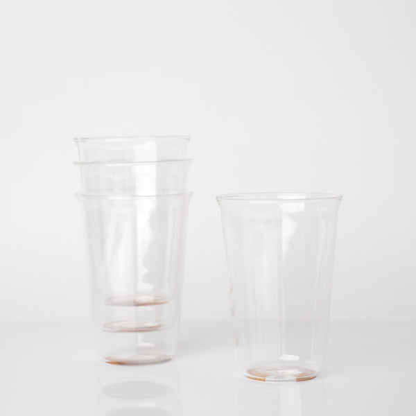 Cast Beer Glass | Set of Four | 430ml
