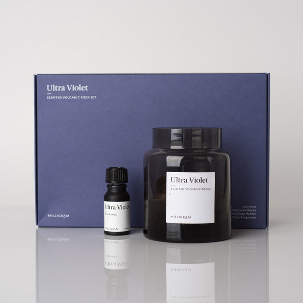 Scented Volcanic Rock Set | Ultra Violet