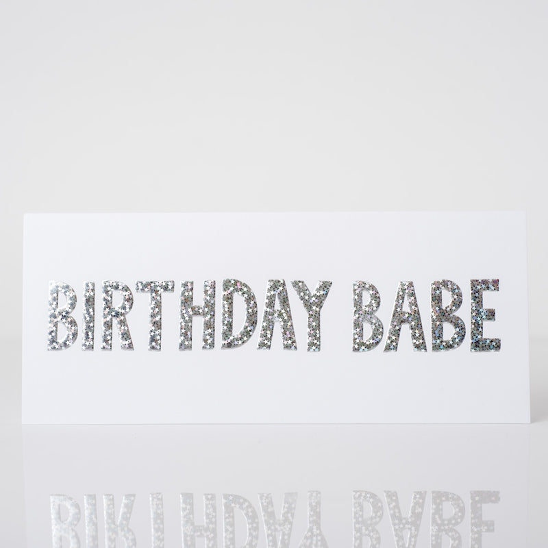 Birthday Babe Greeting Card