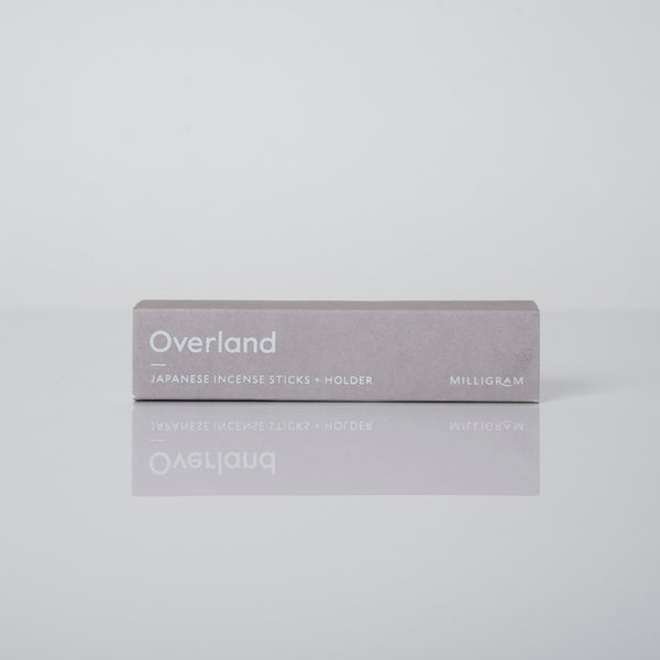 Overland Japanese Incense Sticks and Holder | Milligram Studio