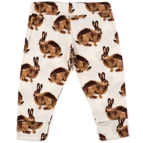 Organic Cotton Legging - Bunny