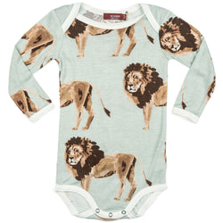 Long Sleeve One Piece - Lion
