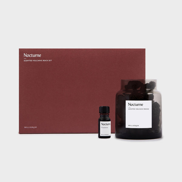 Scented Volcanic Rock Set - Nocturne