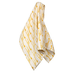 Organic Swaddle - Yellow Giraffe