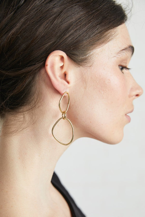Sabi Outline Drop Earrings
