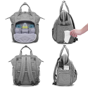 3 Insulated Pocket - Diaper Bag - mommythingz