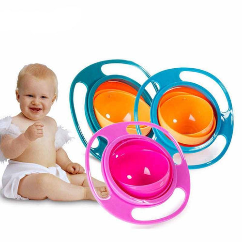 360 Rotating Spill-proof Bowl - mommythingz