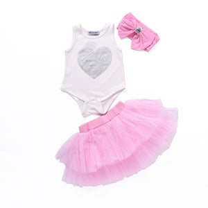 Silver Heart with Pink Tutu - mommythingz
