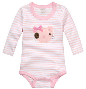 Pink Cat Romper - mommythingz