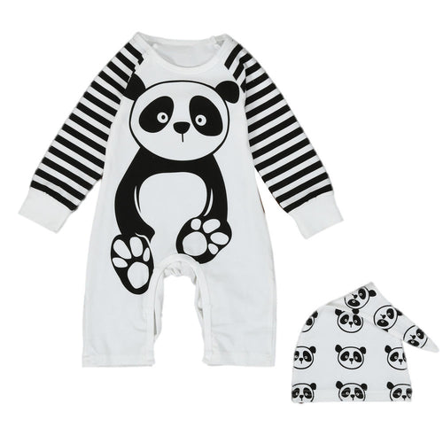 Boys / Girls Panda Jumpsuit - mommythingz