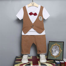Boys Bow-tie Tops+Pants Outfit - mommythingz