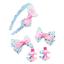 5Pcs Hair Clip Bow-knot - mommythingz