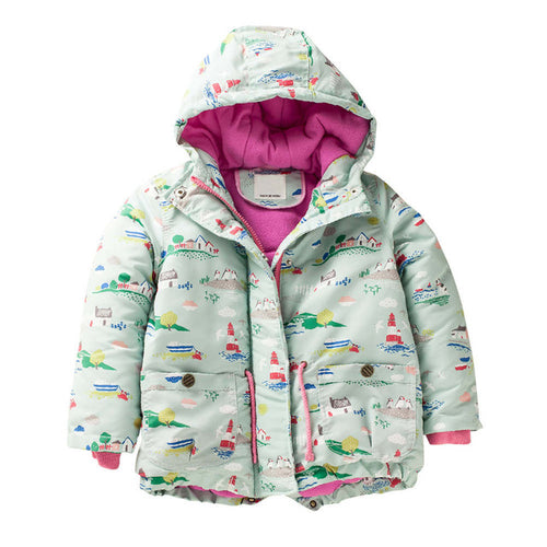 Girl's Thick Warm Jacket - mommythingz