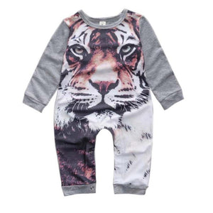 Tiger Print Jumpsuit - mommythingz