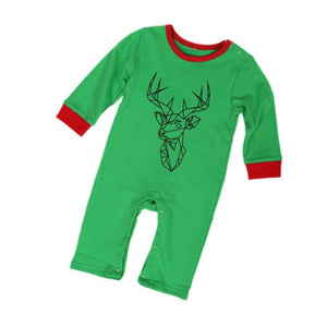 Christmas Wapiti Romper - mommythingz
