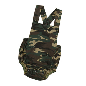 Camouflage Sleeveless Jumpsuit - mommythingz