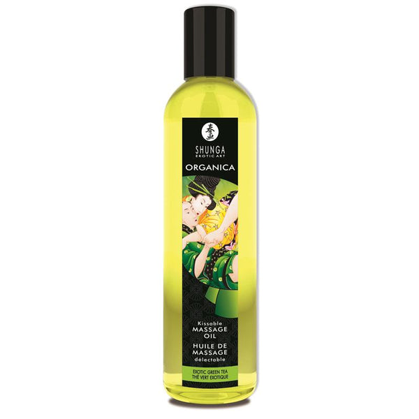 Shunga Erotic Massage Oil Green Tea 250ml