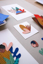 Papercut illustraties door Mino voor Dille & Kamille