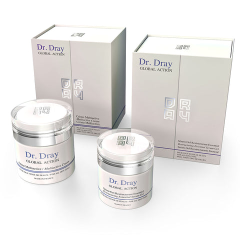 Dr. Dray believes in the importance of using quality products to pamper the skin.