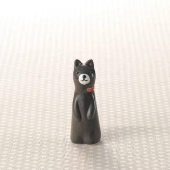 Ring Holder - Black Cat