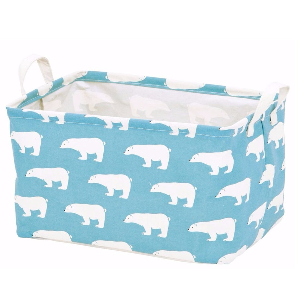 Storage Basket - Polar Bear・Blue