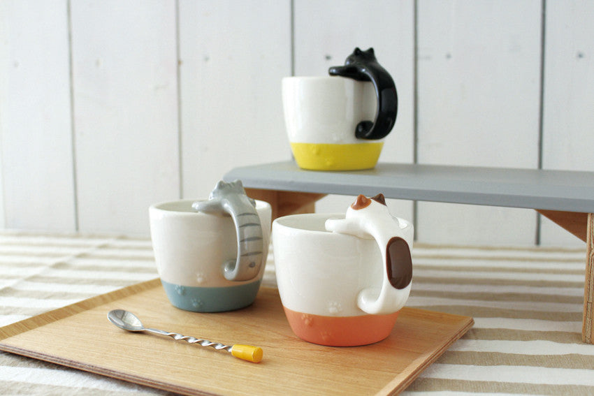 Decole Tiger Cat Mug 虎貓杯