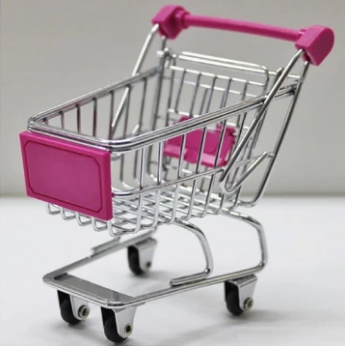 Mini Cart Storage Basket