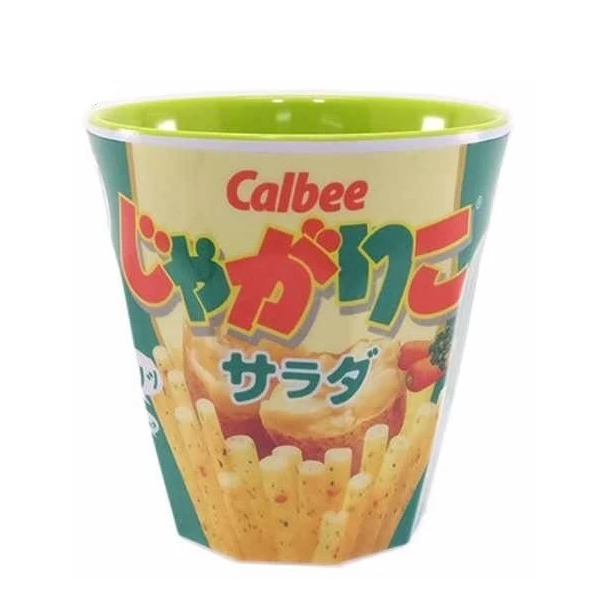 Cup(Salad Potatos chips)Green 零食包裝水杯