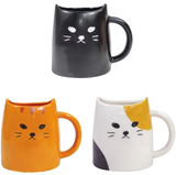 Cat Mug - Three Wool Cat 三色貓杯