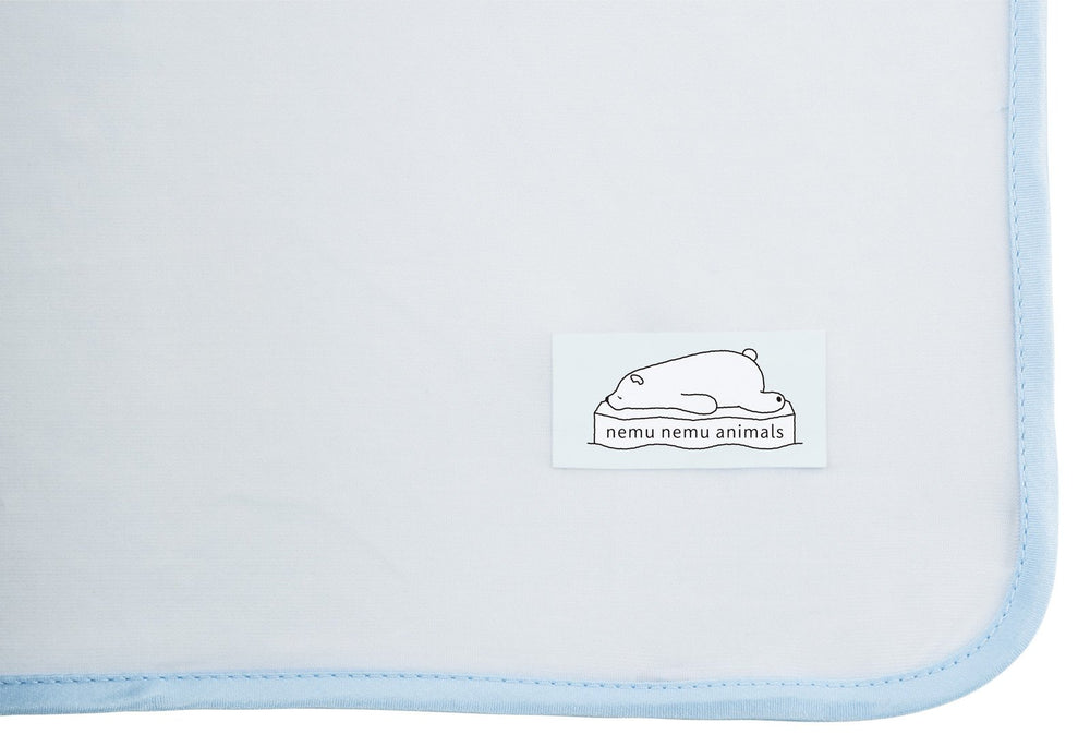 Premium Nemunemu Animals Blanket Cushion - Polar Bear