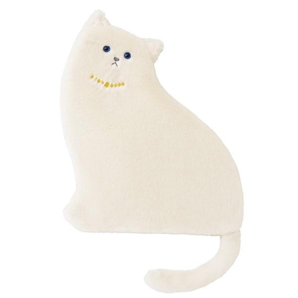Neko No Miu Cat Cushion & Blanket - Ivory