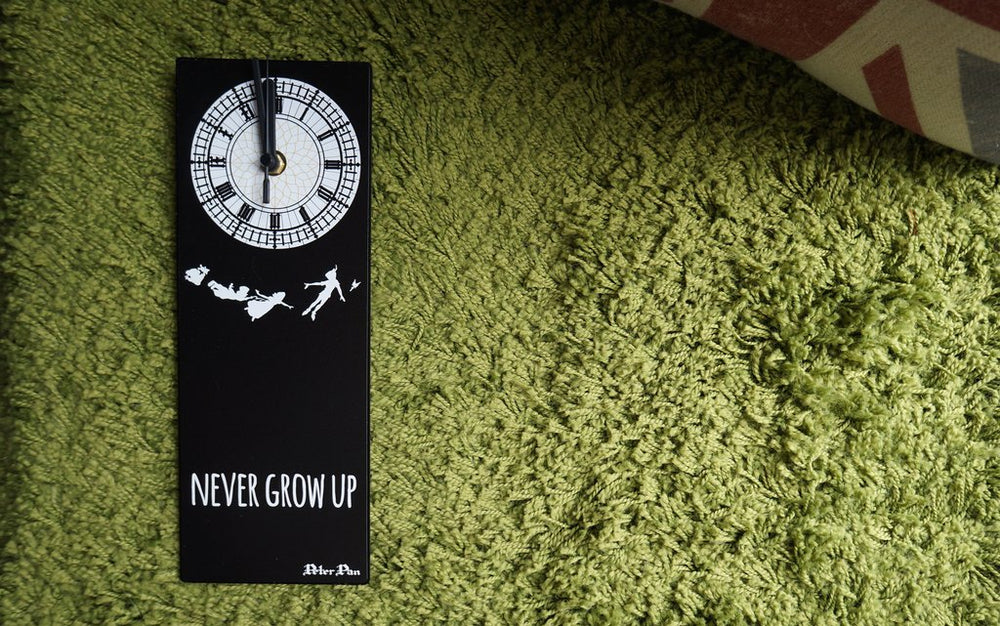 Peter Pan - Never grow up - Big Ben Wall Clock