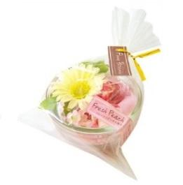 FLOWER PATISSERIE Aromatherapy Products - Fresh Peach 玻璃香味花盆 - 清新香桃