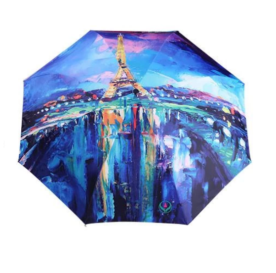 Paris Eiffel Tower Umbrella