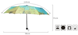 World Map Umbrella