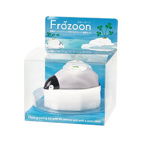 SeiShin Frozoon Self-Watering On Ice Floe - Penguin