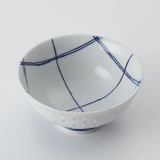 日本製 - 格仔碗 Checkered Pattern Bowl