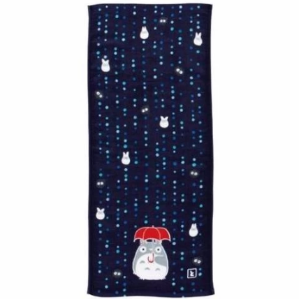Gauze Face Towel - Rain Night 日本製龍貓今治毛巾 - C