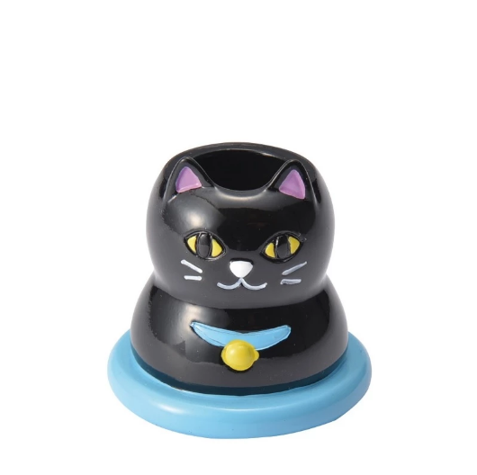 Toothbrush Holder - Black Cat 黑色小貓牙刷座