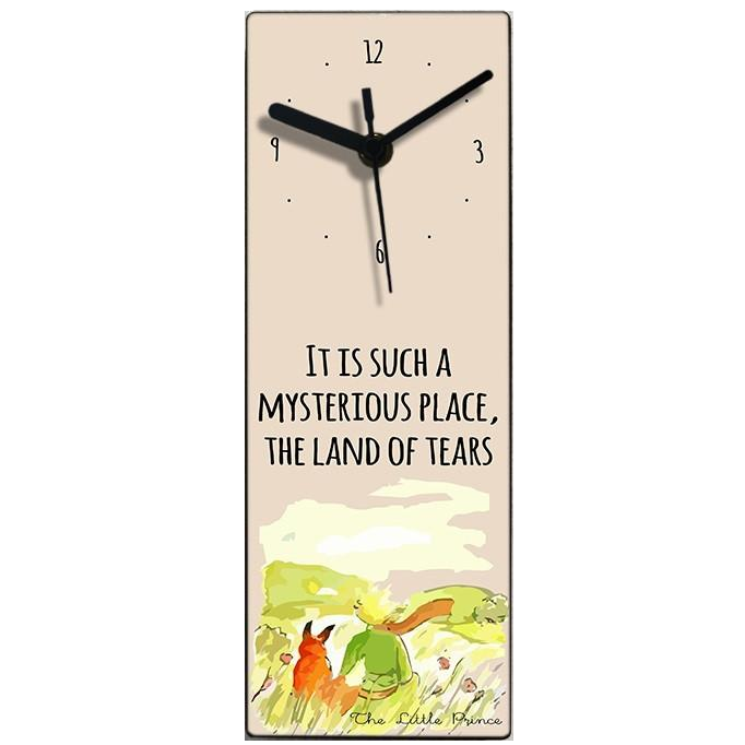 The Little Prince Wall Clock - Water color