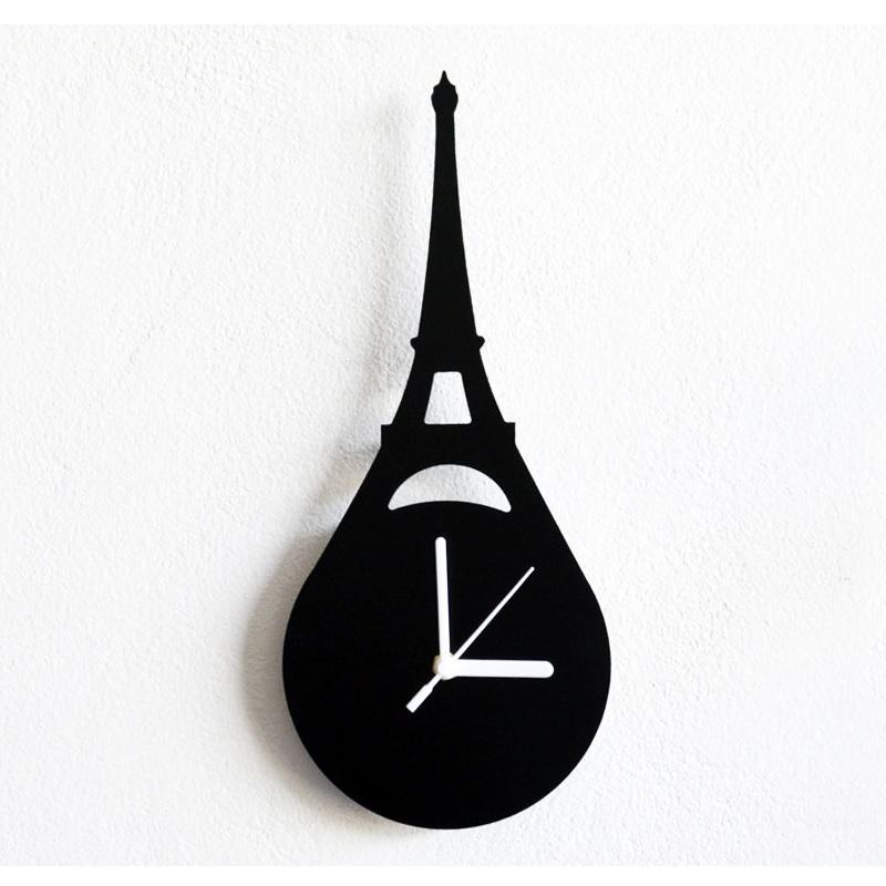 Eiffel Tower Paris France Wall Clock