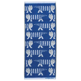LISA LARSON Cat Towel - Blue 貓貓長毛巾 - 藍色