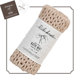 Hand Made Bath Mats - Beige 手工編織浴室地毯 - 象牙色