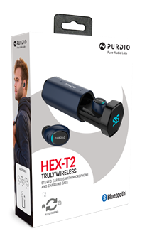 Purdio Hex T2 Bluetooth 5.0 True Wireless Earbuds