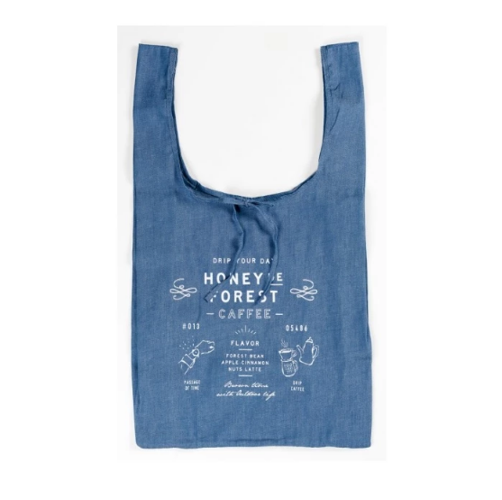 Eco Bag Honey Forest (Blue) 環保袋 - 藍色